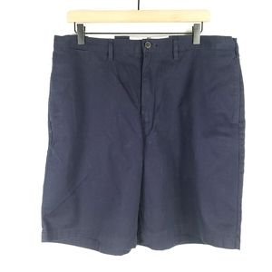 3/$20 Mens Lands' End Chino Shorts Size 36